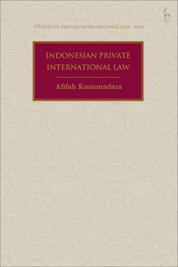 Indonesian Private International Law cover