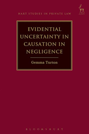 Evidential Uncertainty in Causation in Negligence cover