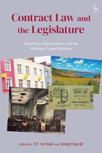 Contract Law and the Legislature cover