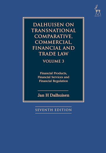 Dalhuisen on Transnational Comparative, Commercial, Financial and Trade Law Volume 3 cover