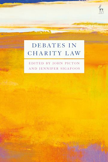 Debates in Charity Law cover