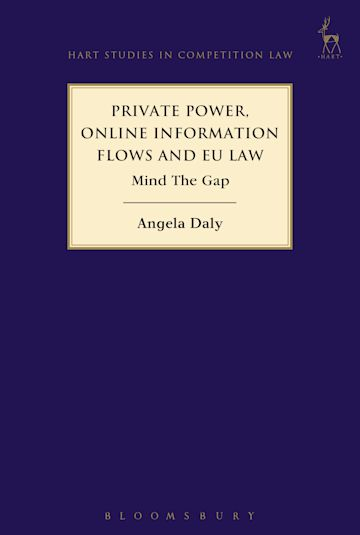 Private Power, Online Information Flows and EU Law cover