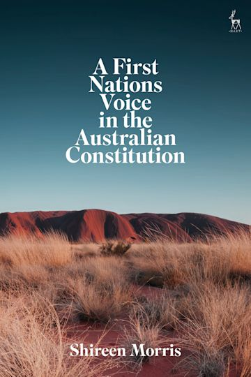 A First Nations Voice in the Australian Constitution cover
