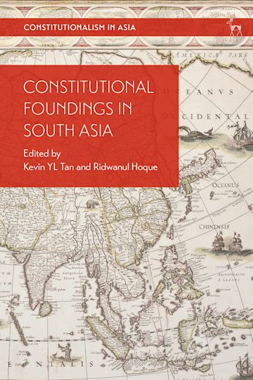 Constitutional Foundings in South Asia cover