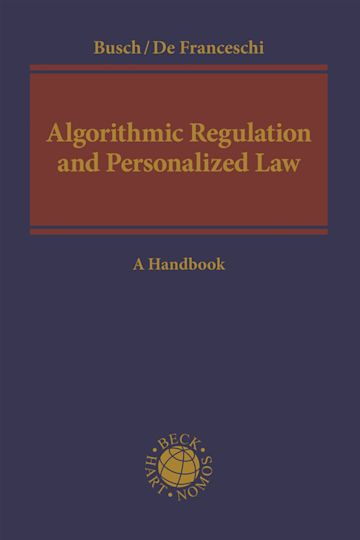 Algorithmic Regulation and Personalized Law cover