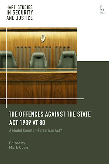 The Offences Against the State Act 1939 at 80 cover