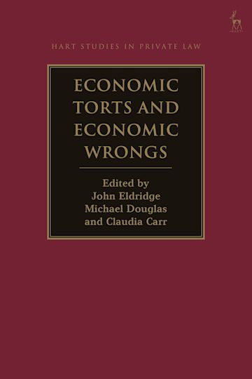 Economic Torts and Economic Wrongs cover