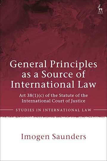 General Principles as a Source of International Law cover