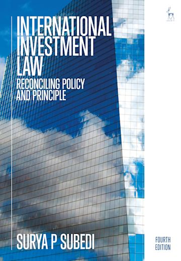 International Investment Law cover
