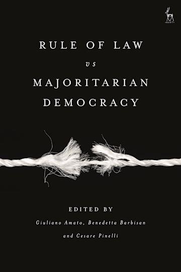 Rule of Law vs Majoritarian Democracy cover