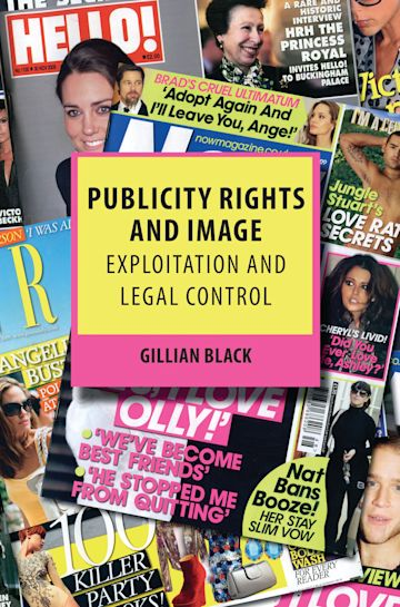 Publicity Rights and Image cover
