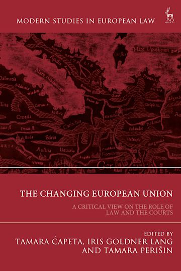 The Changing European Union cover