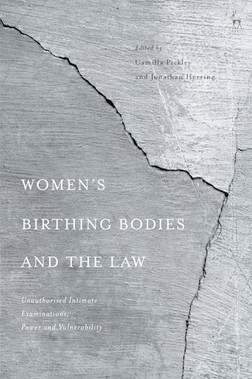 Women's Birthing Bodies and the Law cover