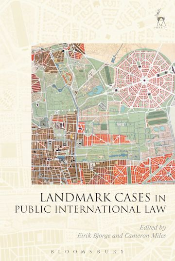 Landmark Cases in Public International Law cover