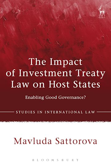 The Impact of Investment Treaty Law on Host States cover