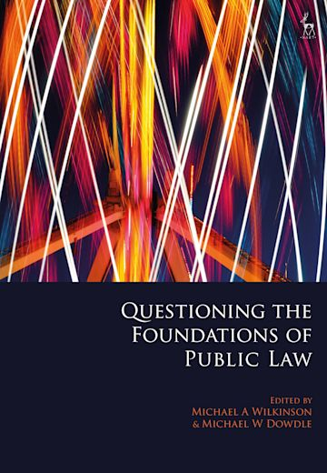 Questioning the Foundations of Public Law cover