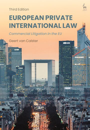 European Private International Law cover