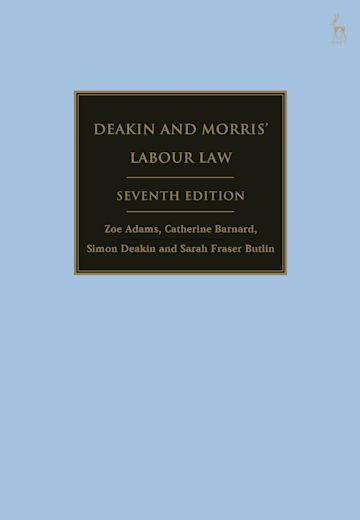 Deakin and Morris' Labour Law cover