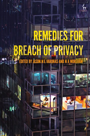 Remedies for Breach of Privacy cover