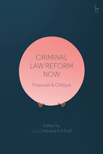 Criminal Law Reform Now cover