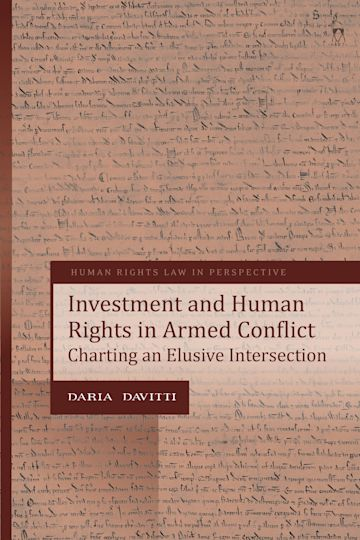 Investment and Human Rights in Armed Conflict cover