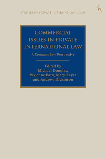 Commercial Issues in Private International Law cover