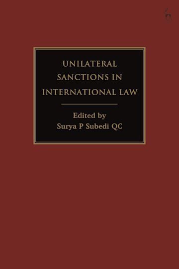 Unilateral Sanctions in International Law cover