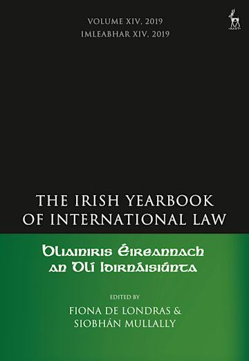 The Irish Yearbook of International Law, Volume 14, 2019 cover