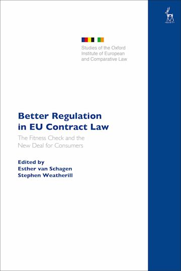 Better Regulation in EU Contract Law cover