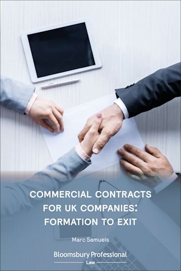 Commercial Contracts for UK Companies: Formation to Exit cover