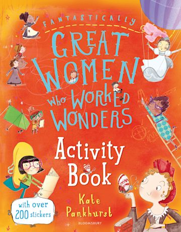 Fantastically Great Women Who Worked Wonders Activity Book cover