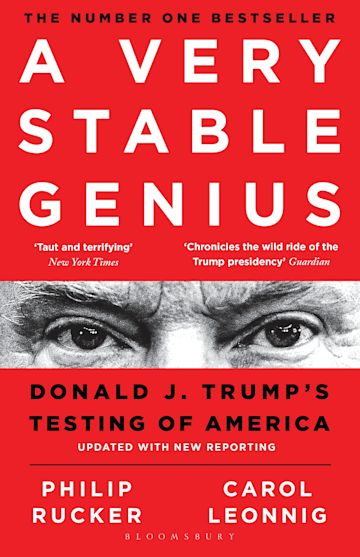 A Very Stable Genius cover