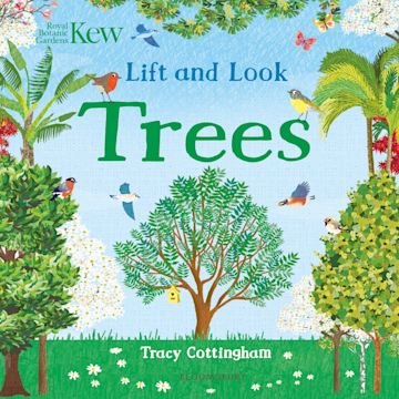 Kew: Lift and Look Trees cover