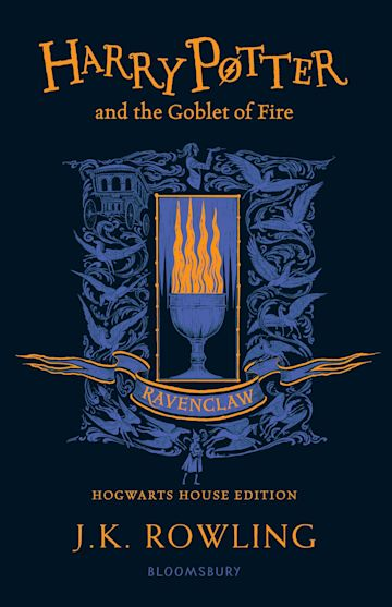 Harry Potter and the Goblet of Fire – Ravenclaw Edition cover
