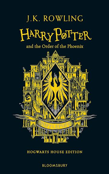 Harry Potter and the Order of the Phoenix – Hufflepuff Edition cover
