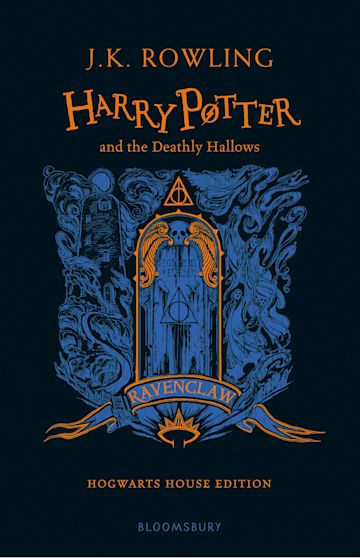 Harry Potter and the Deathly Hallows - Ravenclaw Edition cover