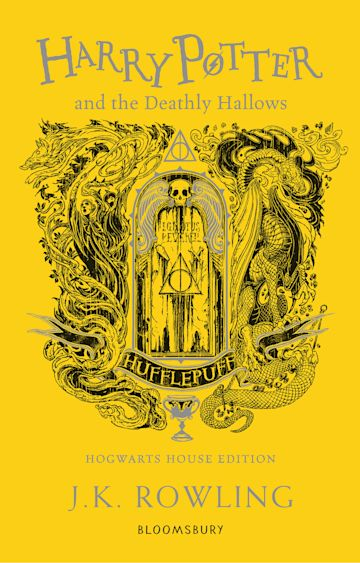 Harry Potter and the Deathly Hallows - Hufflepuff Edition cover