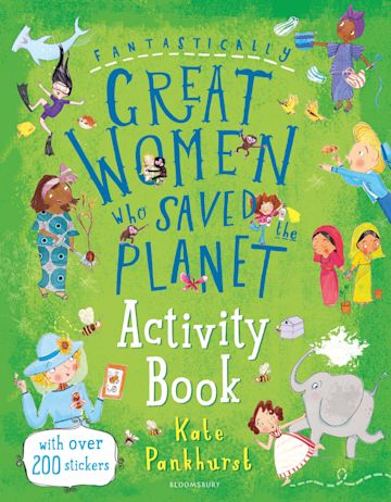 Fantastically Great Women Who Saved the Planet Activity Book cover
