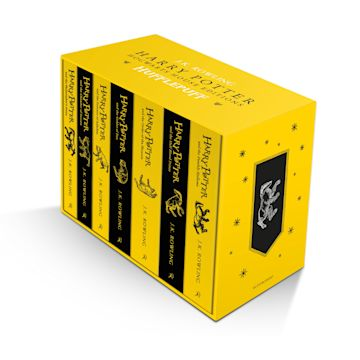 Harry Potter Hufflepuff House Editions Paperback Box Set cover
