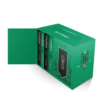 Harry Potter Slytherin House Editions Hardback Box Set cover