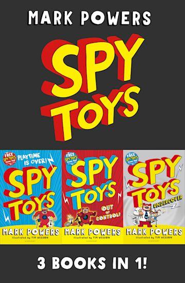 Spy Toys eBook Bundle cover