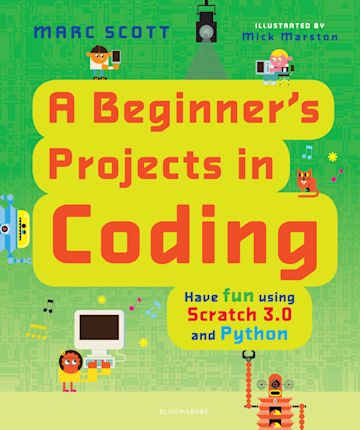 A Beginner's Projects in Coding cover