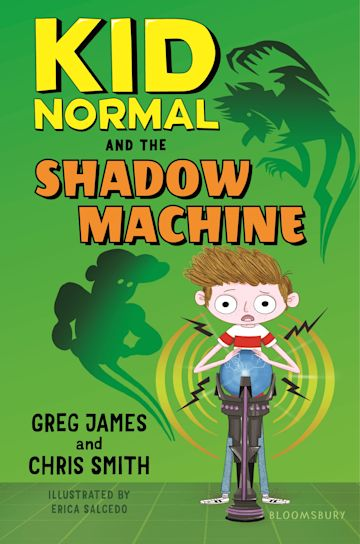 Kid Normal and the Shadow Machine: Kid Normal 3 cover