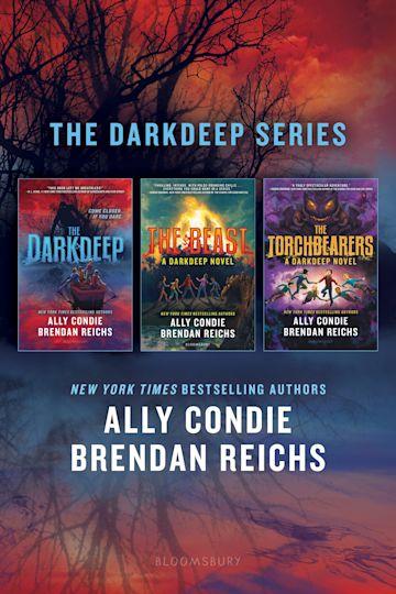 The Darkdeep Series cover