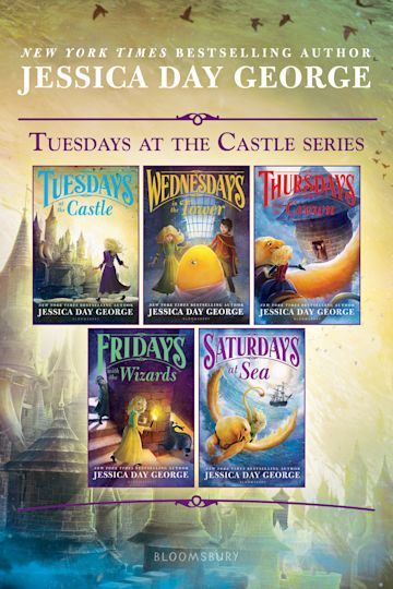 Tuesdays at the Castle Series cover