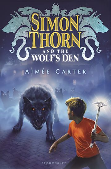 Simon Thorn and the Wolf's Den cover