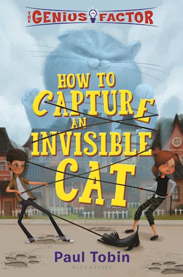 The Genius Factor: How to Capture an Invisible Cat cover