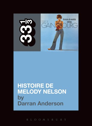 Serge Gainsbourg's Histoire de Melody Nelson cover