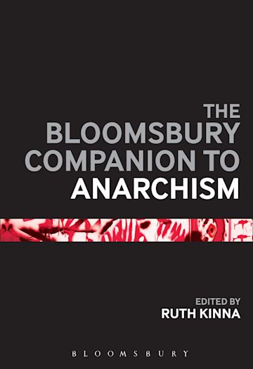 The Bloomsbury Companion to Anarchism cover
