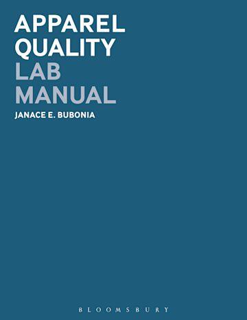 Apparel Quality Lab Manual cover
